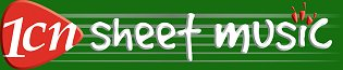 1CN Sheet Music Store Logo